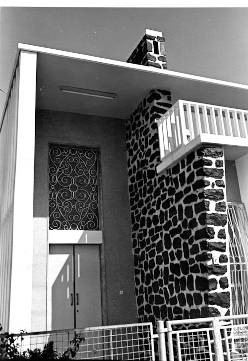 Entry to house in Asmara, Eritrea 1969