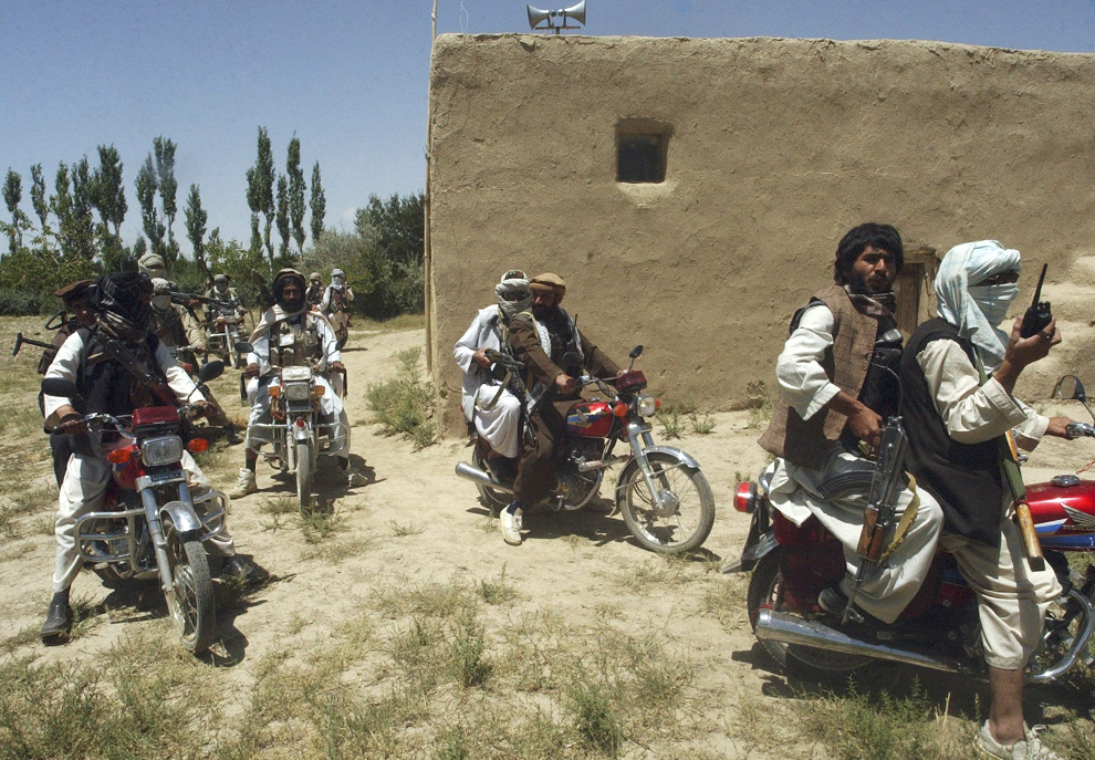 Taliban in an undisclosed location.  Reuters photo
